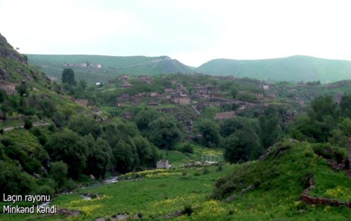 Laçın rayonunun Minkənd kəndi