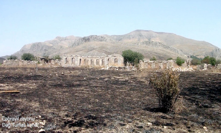 Cəbrayıl rayonunun Dağ Tumas kəndi
