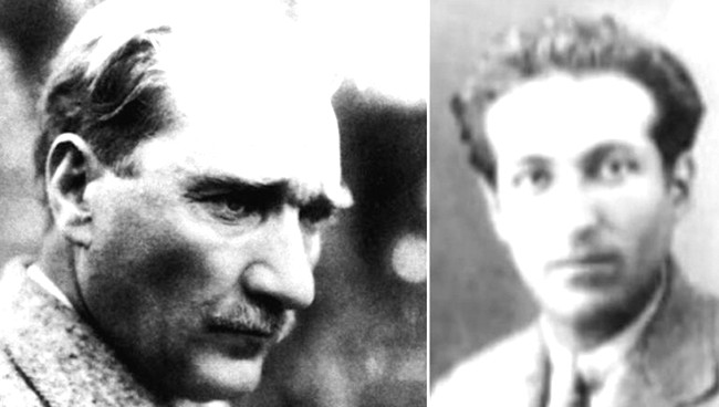 Mustafa Kamal Atatürk və Esat Nedim