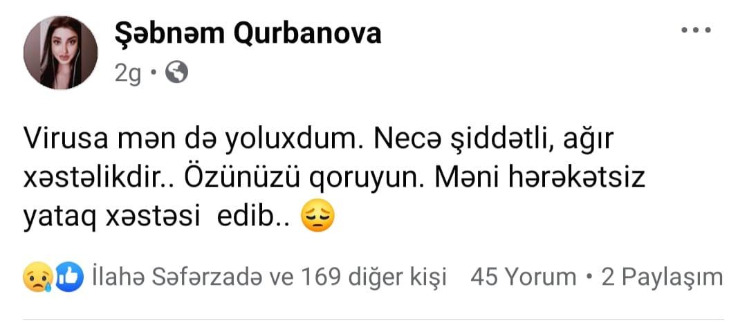 Şəbnəm Qurbanova