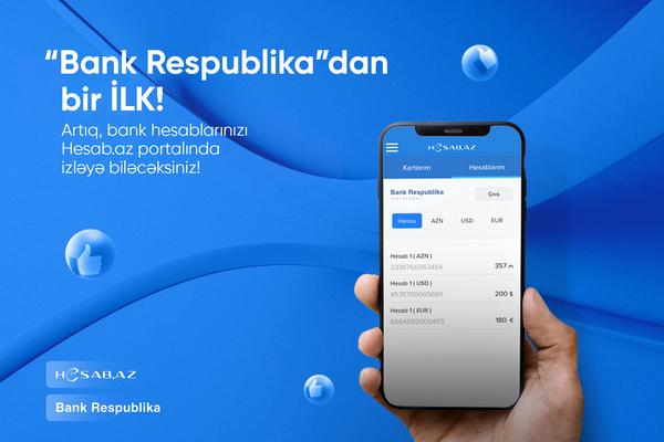 Bank Respublika və Hesab.az fintex sahəsində bir ilkə imza atdılar!
