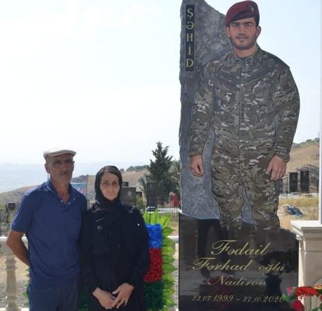 Qobustan şəhidi Fədail Nadirov