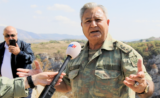 """Şuşada şəhid oğlunun ruhu ilə görüşən ATA: """"Salam, oğlum"""" - Video"""