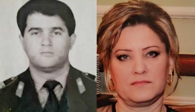 Şəhid Babayev İslam Əhmədağa oğlu və həyat yoldaşı Şirəliyeva Solmaz