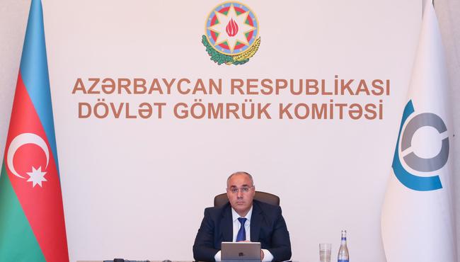 DGK-nin sədri Ümumdünya Gömrük Təşkilatının Baş katibi ilə görüşüb
