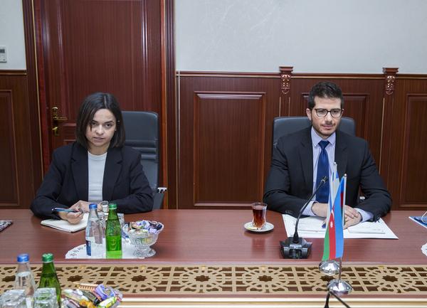 DGK-nin sədri İsrail Dövlətinin Azərbaycan Respublikasındakı səfiri ilə görüşüb