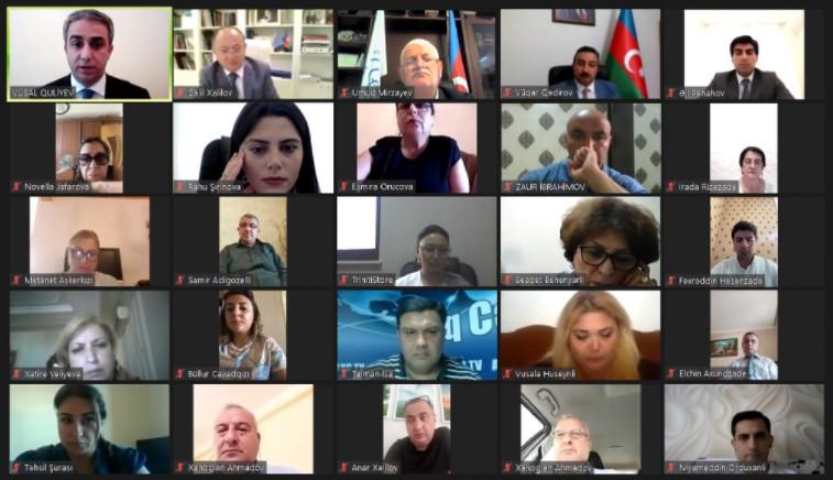 Azərbaycan Respublikasının Qeyri-Hökumət Təşkilatlarına Dövlət Dəstəyi Agentliyi onlayn konfrans keçirib