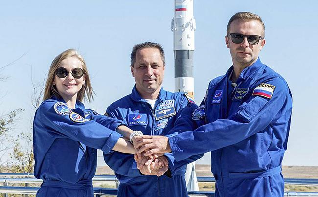 Rusiya dünyada ilk dəfə kosmosda film çəkəcək