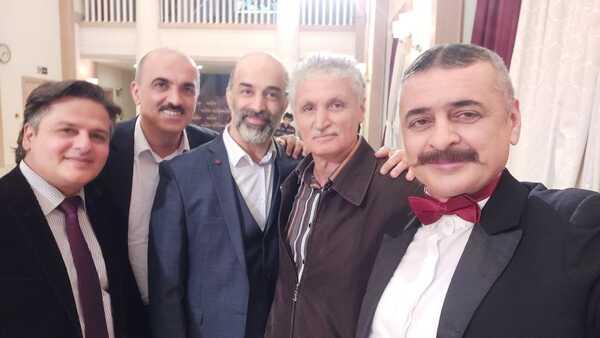 Elman Rəfiyev və aktyorlar