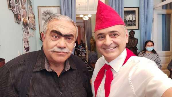 Cahangir Novruzov və Elman Rəfiyev
