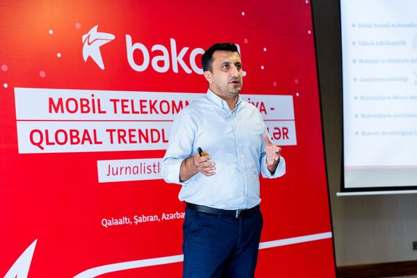 Bakcell jurnalistləri mobil telekommunikasiya sahəsinin son trend və yenilikləri ilə tanış edib